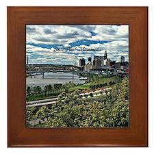 Saint Paul, Minnesota Framed Tile