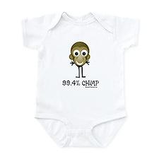 99.4% Chimp Infant Bodysuit
