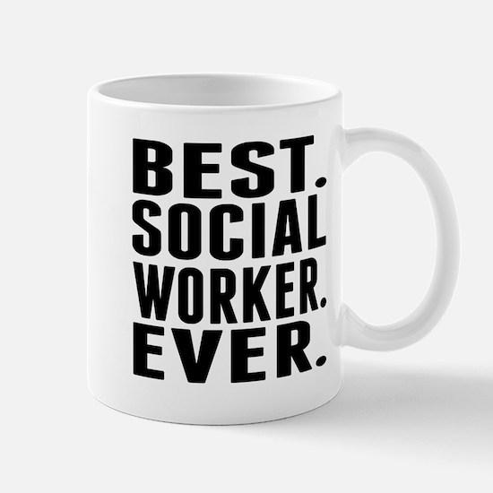 Best. Social Worker. Ever. Mugs