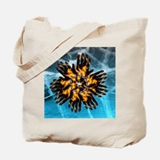 Fire & Ice Blazing Hand Starburst Tote Bag