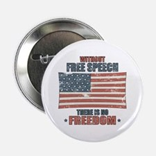 "Free Speech 2.25"" Button"