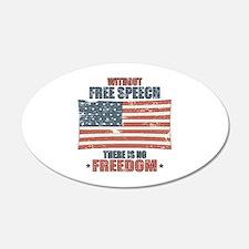 Free Speech Wall Sticker
