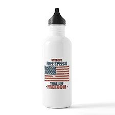 Free Speech Water Bottle