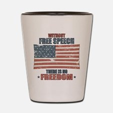 Free Speech Shot Glass