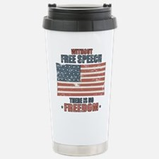 Free Speech Travel Mug