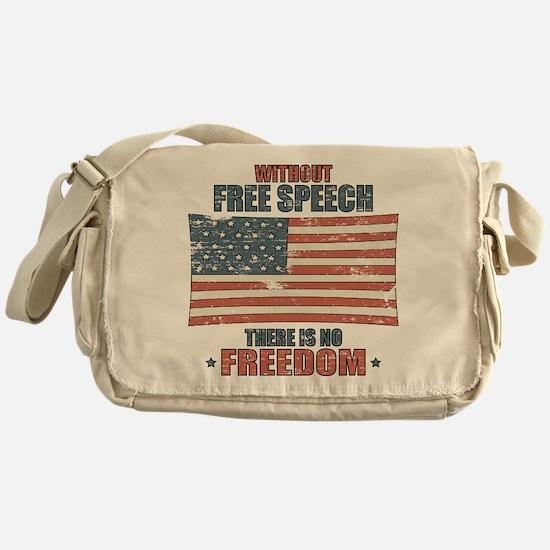 Free Speech Messenger Bag