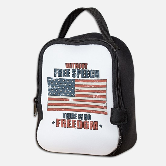 Free Speech Neoprene Lunch Bag