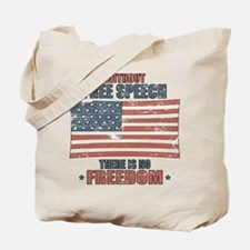 Free Speech Tote Bag