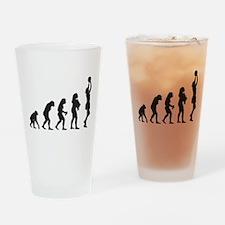 Netball Drinking Glass