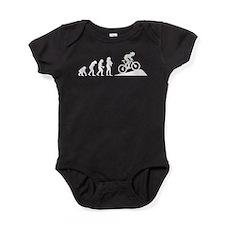 Mountain Biking Baby Bodysuit