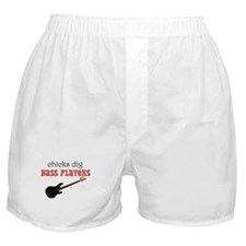 Chicks dig bass players Boxer Shorts