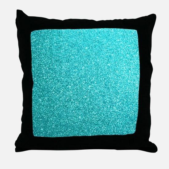 Cute Tiffany blue Throw Pillow