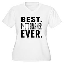 Best. Photographer. Ever. Plus Size T-Shirt