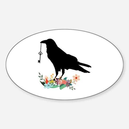 Unique Angry birds Sticker (Oval)