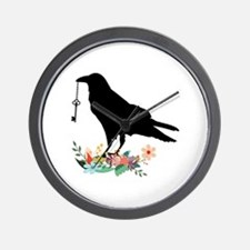 Cute Angry bird Wall Clock