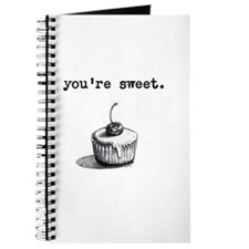 Youre Sweet Cupcake Journal