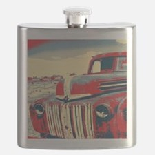 cool retro old truck  Flask