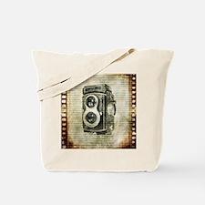 photographer retro camera Tote Bag