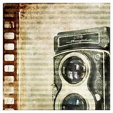 photographer retro camera Poster