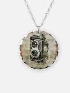 photographer retro camera Necklace