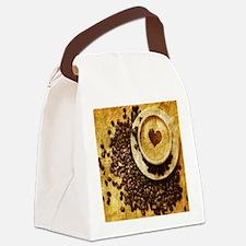 Unique Beverages Canvas Lunch Bag