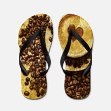 Cool Coffee Flip Flops
