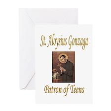 St. Aloysius Gonzaga Greeting Card