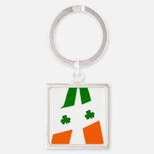 Irish flag beer bottles Keychains