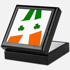 Irish flag beer bottles Keepsake Box