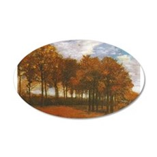 Autumn Lanscape by Van Gogh Wall Decal