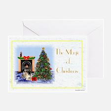 Magic of XMas Greeting Card