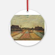 Vincent Van Gogh Bulb Fields Ornament (Round)
