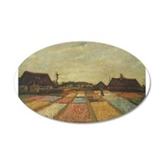 Vincent Van Gogh Bulb Fields Wall Decal