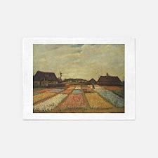 Vincent Van Gogh Bulb Fields 5'x7'Area Rug