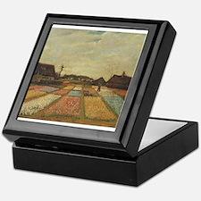 Vincent Van Gogh Bulb Fields Keepsake Box