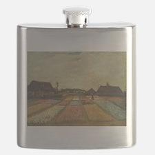 Vincent Van Gogh Bulb Fields Flask