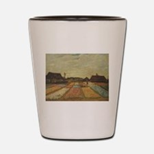 Vincent Van Gogh Bulb Fields Shot Glass