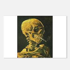 Van Gogh skull Postcards (Package of 8)