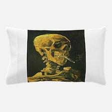 Van Gogh skull Pillow Case