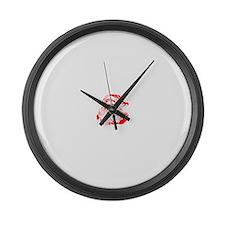 santa claus Large Wall Clock