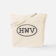 HWV Oval Tote Bag