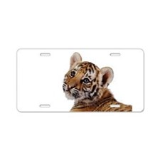 baby tiger Aluminum License Plate