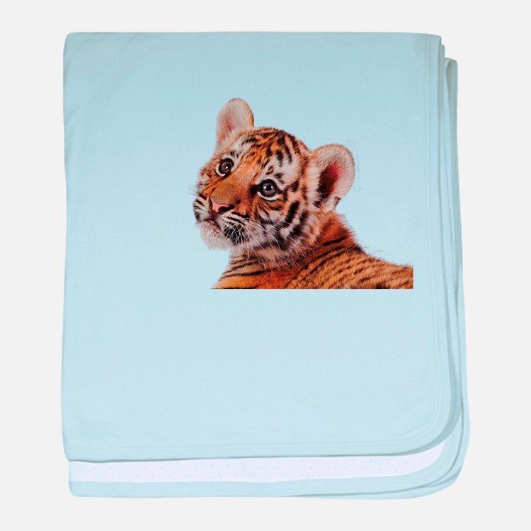 baby tiger baby blanket