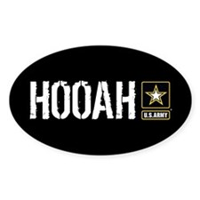 U.S. Army Hooah Decal