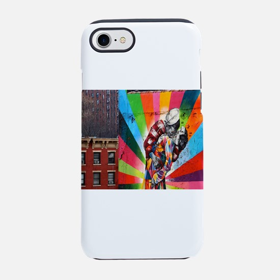 Rainbow Sailor's Kiss iPhone 8/7 Tough Case