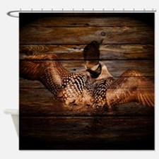 Cute Duck hunting Shower Curtain