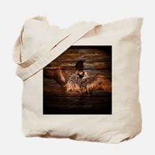 Funny Duck hunting Tote Bag