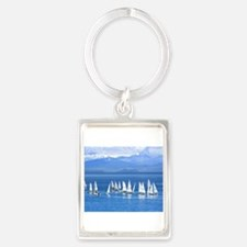 nautical sailboats Keychains
