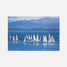 nautical sailboats Magnets