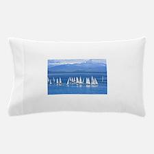 nautical sailboats Pillow Case